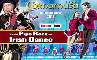 Show World of Pipe and Irish Dance Tempodrom Berlin