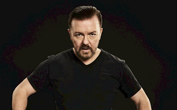 ricky gervais, comedy, live nation tempodrom berlin
