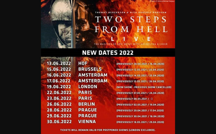 Two Steps From Hell Tempodrom Berlin 2steps from hell live esports
