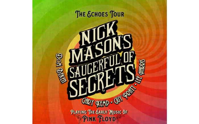 Nick Mason's Saucerful Of Secrets Nick Mason live Gary Kemp Guy Pratt Lee Harris Dom Beken tickets kaufen nick mason